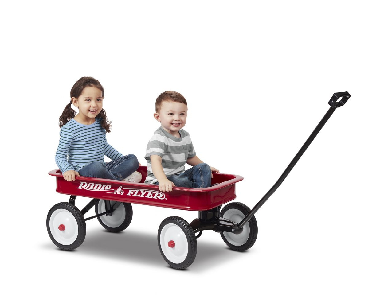 Classic Red Metal Wagon Radio Flyer