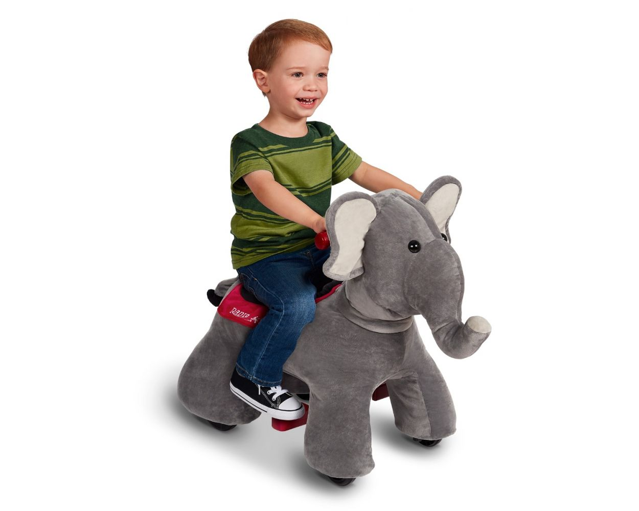 Peanut: Electric Ride-On Elephant with Sounds