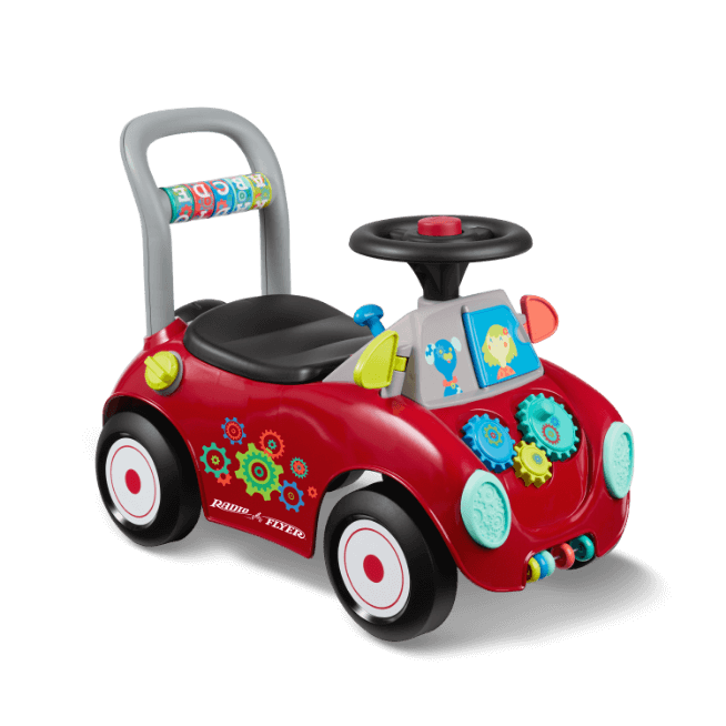 Busy Buggy Baby Toddler Activity Walker Radio Flyer